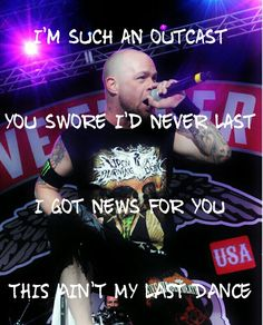 """Five Finger Death Punch: """"Ain't my last dance"""" from their latest album Got your six"""