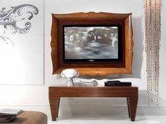 Wall Mounted Television Cabinet | Wall Mounted Maple TV Cabinet POIS | Wall  Mounted