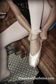 {Beauty Captured} First Pointe Shoes