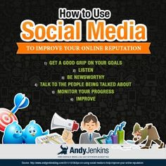 Check this out, folks:    Using Social Media to Help Improve Your Online Reputation