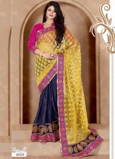Distinctive Charm Beautiful Indian Saree 3059 http://www.angelnx.com/