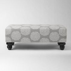 Printed Bench - Perfect end of the bed bench.