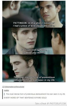 No One Hates Twilight As Much As Robert Pattinson.