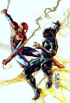 Black Panther vs Spider-Man