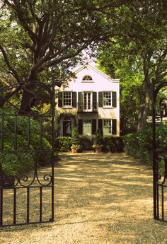 A Beautiful Home on Murray Boulevard. Charleston, South Carolina.