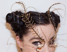 "Björk ""Wire Moth"" Headpiece"