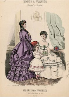 Modes Vraies 1869