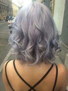 Grey/ lavender hair. This is for you Angela!