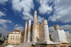 Atene Archeologica: Biblioteca di Adriano | Camperistas.com