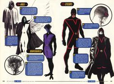 More Alex Ross X-Men designs. Cyclops looks especially badass.
