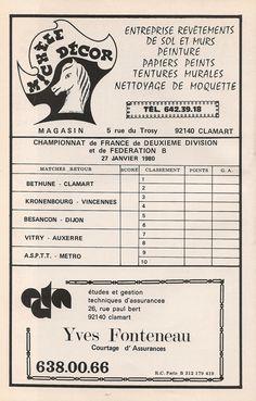 Calendrier 1979-1980 - 2ème Division - Page 28