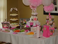 Cheetah Print And Pink Baby Shower Decorations Bing : Baby Girl Shower  Ideas Pink And Leopard Baby Shower ...