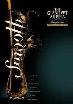 GLENLIVET ALPHA • Ad Campaign by S E A N   F R E E M A N • T H E R E   I S, via Behance