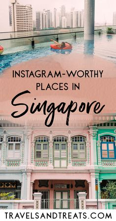 The most Instagram-worthy places in Singapore. Places to see in Singapore and Singapore's best photo spots. via @travelsandtreats