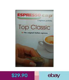 Coffee Espresso Cap Top Classic Capsules 60 Pcs Bennoti Termozeta, Welco  Imco And More #