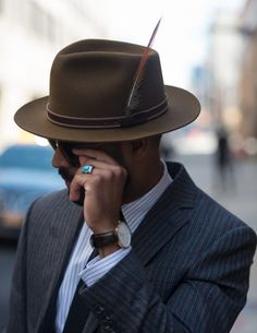 Men's Hat Inspiration #2 Follow MenStyle1.com... | MenStyle1- Men's Style Blog