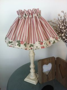 Lamp Shade Cover / French Provincial Style /Shabby Chic
