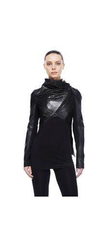 Leather bolero jacket - Rudsak Store $445