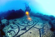 Discovering Roman ruins and underwater towns in the Gulf of Naples, Cape Miseno