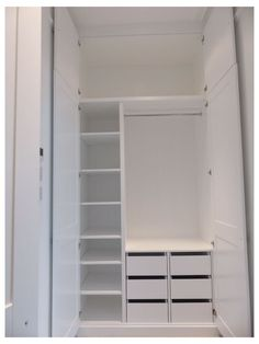 Fitted Wardrobe Interiors, Bedroom Built In Wardrobe, Wardrobe Interior Design, Bedroom Closet Design, Bedroom Wardrobe, Closet Designs, Modern Wardrobe, Wardrobe Closet, Small Closet Design