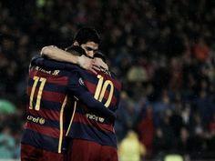 Trio MSN marca, Barcelona vence Arsenal e avança na Uefa Champions League