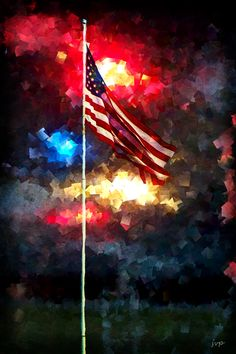 """And the rocket's red glare, the bombs bursting in air, Gave proof through the night that our flag was still there."" -Francis Scott Key, Star Spangled Banner"