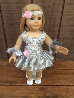American Girl 18'' Doll Dance Costume Dress & by DollClothesbyDJ