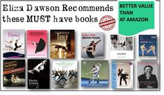 Love Dance? Love Books?  Love Eliza Dawson Dance Bookshop!! www.elizadawsondancebooks.co.uk