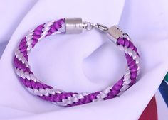 Kumihimo bracelet Silk bracelet most popular от Spillikinsbijou