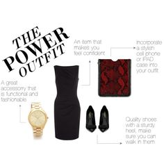 The Anatomy of The Power Outfit.