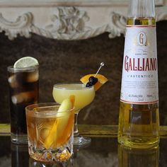 If you have any Galliano, the sweet, herbal Italian liqueur, lurking in your liquor cabinet, you'll know.
