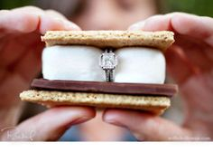 "smore proposal- - I'd like to have ""smore"" of you in my life!!!  way sweet!"