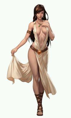 "fantasyartvillage: ""Female NPC Sketch by Stanley Lau (Artgerm) """