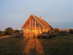 Discover gorgeous glass-fronted cabins and farmhouses that are one with nature