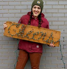 Squeeze in a few holiday crafts. This cheery light takes less than 5 minutes to complete. See how on Crafted in Carhartt.
