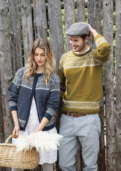 Theme 59 - No. 2 - Sweater for men w/set in sleeves, knitted in Tynn Alpakka Ull Crochet Patterns For Beginners, Knitting Patterns, Knitting Designs, Big Knits, Alpaca Wool, Mulberry Silk, Mother And Child, Cardigans For Women, Knitwear
