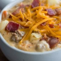 Bacon Cheeseburger Soup | The Recipe Critic