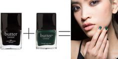 Basic manicures with a twist; see the polish equations for three looks we love!