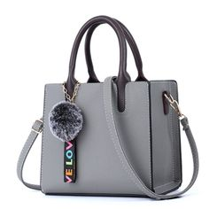Female Bags Casual Tote 2019 Trendy Fashion PU Leather Handbag - My Bag Ideas Fashion Handbags, Tote Handbags, Cross Body Handbags, Purses And Handbags, Fashion Bags, Leather Handbags, Trendy Fashion, Handbags For Women, Leather Purses