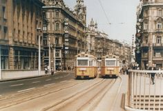 Trams of Hungary and much more. City Sketch, Old Pictures, Shades Of Grey, Historical Photos, Hungary, Old Houses, Transportation, Arch, Street View