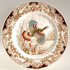 Five years ago today, I posted about Thanksgiving plates, featuring turkeys on the front.  I thought it would be good to revisi...