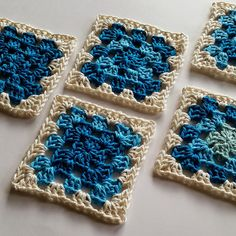 Ravelry: Granny Square Crochet for Beginners pattern by Shelley Husband