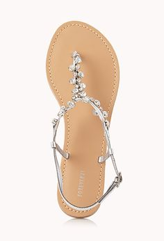 Touch-Of-Glam Sandals | FOREVER21 - 2000066132 @Clare Duffy saw you pinned those other shoes I had, these look exactly the same but way cheaper!