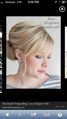 Possible mother of the bride hairstyle