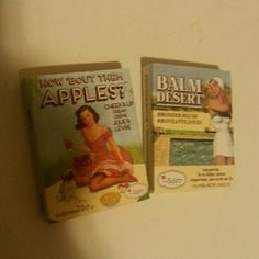 Small The Balm cosmetics One appli pie lip gloss never used or tested but has a crack in it. The other a bronzer in sun. Never used or tested. 7 for all Mankind Makeup