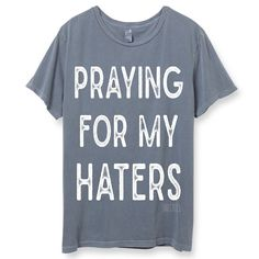 Jesus tells us to be kind to each other and tenderhearted. Do not repay evil with evil. Instead, bless those who persecute you. PRAY FOR YOUR HATERS! THIS IS A UNISEX TEE AND RUNS ABOUT A SIZE LARGER.