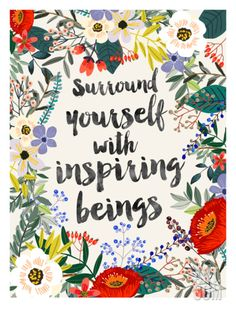 Surround Yourself Art Print by Mia Charro at Art.com