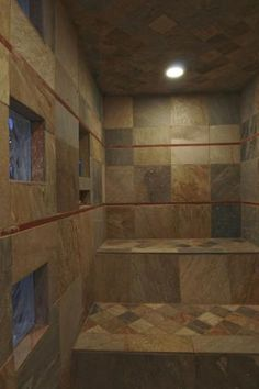 I absolutely love a good steam room! will have to include this.