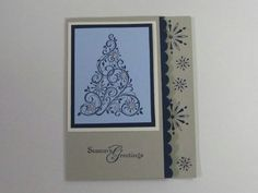 Stampin Up Christmas Card Ideas | Pinned by Kari Haw