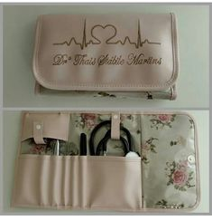 Necessarie Stethoscope Case, Nursing Graduation Pictures, Sewing Crafts, Sewing Projects, Diy And Crafts, Crafts For Kids, Nurse Bag, Creative Wedding Invitations, Medical Art